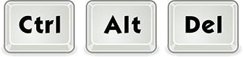 Ctrl Alt Del tuş kombinasyonu