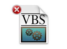 Vbs de alınan içinde dosya uzantısı yok hatası