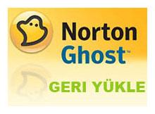 Norton Ghost ile geri yükleme