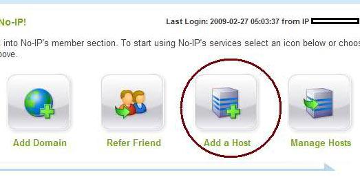 add a host