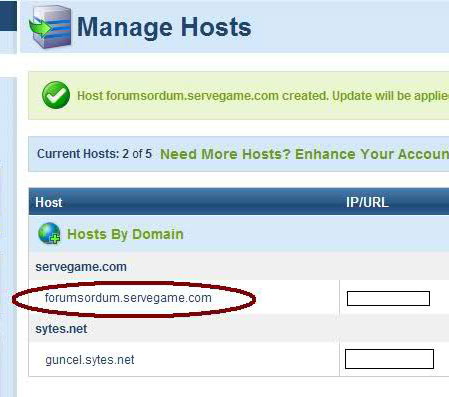 manage hosts