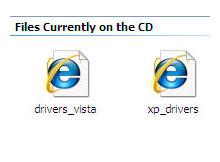 Cd deki klasör simgelerim internet explorer sekline döndü