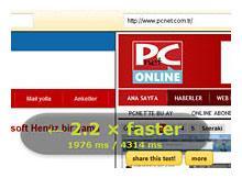 Hangi web sayfası daha hızlı yükleniyor karşılaştırın