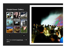 Flash image gallery (Flash resim albümleri)