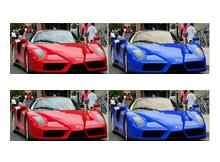Photoshopta renk değişimi
