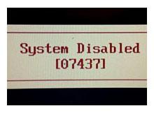 BIOS Master Password generator