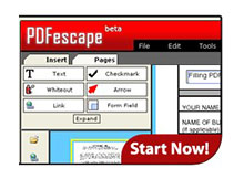 Pdf dosyalarını online olarak düzenleyin (Pdfescape)