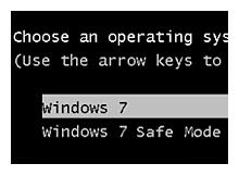 Boot Loader e güvenli kip seçeneği ekleyelim