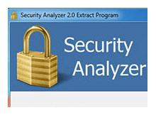 Security Analyzer (Sisteminizin güvenlik durumunu ögrenin)