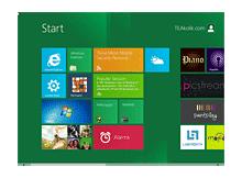 Windows 8 in kişiselleştirilmiş arayüzünü güvenle kullanın