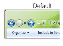 Windows explorer butonlarını kişiselleştirelim