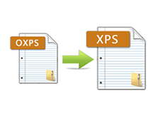 OXPS to XPS Converter