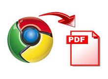 Chrome de web sayfalarını .pdf olarak saklayın