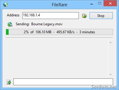 FileXare_Sending