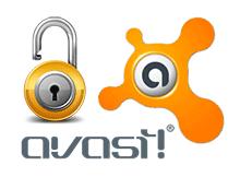 Avast antivirüs şifre soruyor