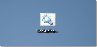 Backup-Start-Screen