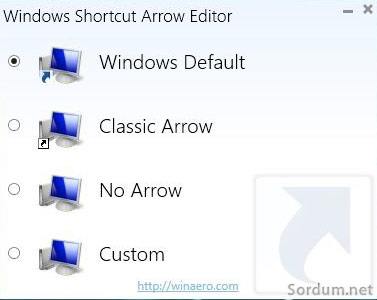 Windows-Shortcut-Arrow-Editor