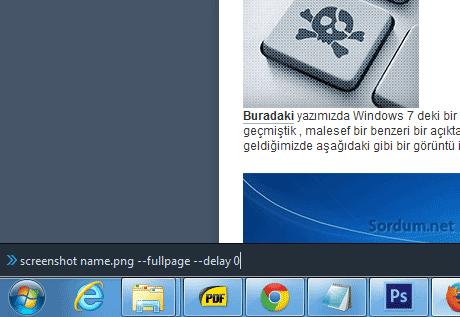 Firefox tam ekran komutu