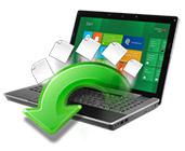 Laptop recovery tuslari