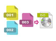 Uzantısı .001 .002 ... olan dosyaları birleştirme