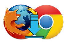Chromenin yarıda kalan indirme işlemine Firefox devam etsin