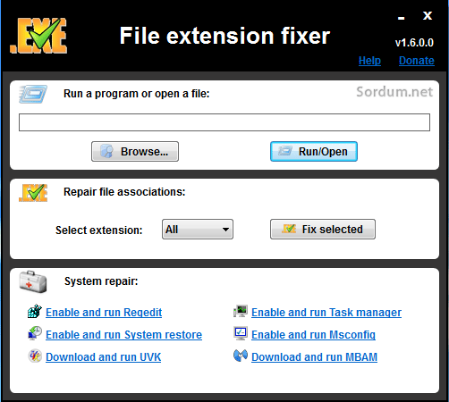 exe  extension fixer
