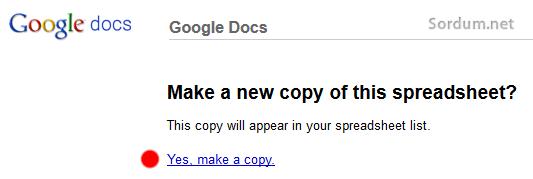 yes make a copy