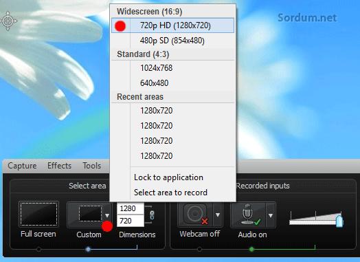 HD görüntü kaydı büyüklüğü