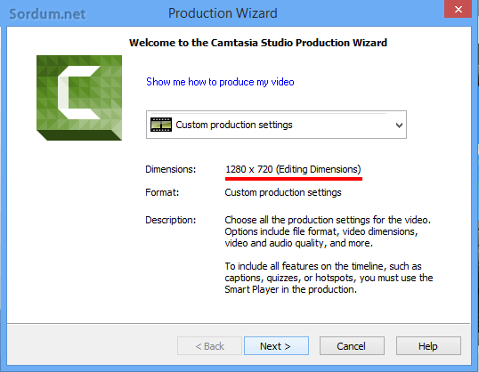camtasia dimension
