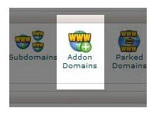 Addon domain ve gerekli ayarlamalar