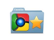 Google chrome de favoriler klasörü oluşturalım