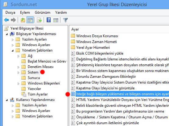 gpedit framework kurulum