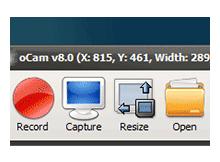 oCam - Ekran görüntüsü yakalama ve kaydetme yazılımı