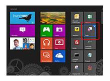 Windows 8 de program kısayolları start screen e eklenmesin