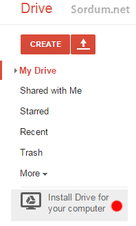 google drive yazilimini indir