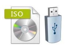 iso2disc ile bootable USB hazırlama