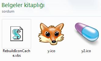 Doğru ikonlar