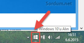 Windows 10 u alın uyarısı