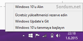 Windows 10 rezerve