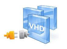 Windows araçları ile VHD yi bağlama ve ayırma