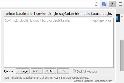 Turkish deasciifer