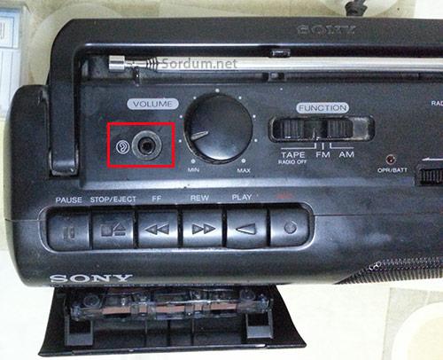 Teypten bilgisayara kaset aktarımı