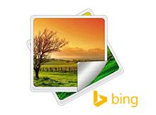 Bing resimlerini Logosuz kaydetmek