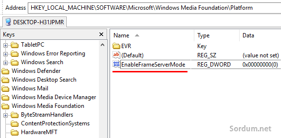 enable server mode