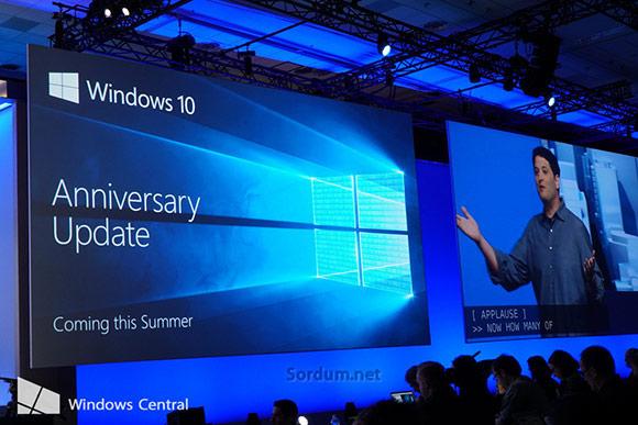 windows anniversary güncellemesi yenilikleri
