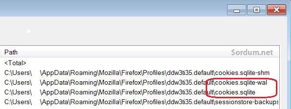 firefox disk aktivitesi sebebi