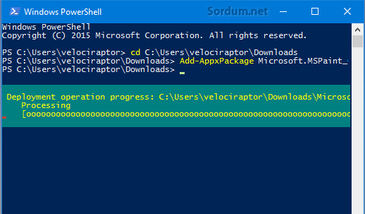 Powershell add-package