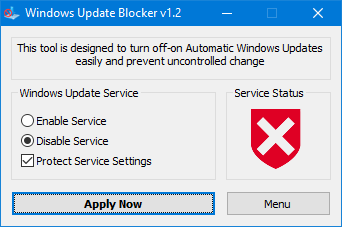 windos update blocker blocked