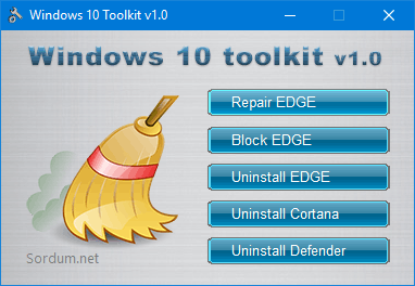 Windows 10 toolkit