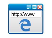 Microsoft EDGE Adres çubuğu sürekli görünsün